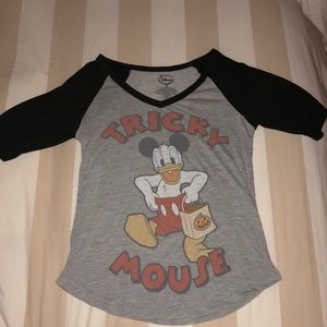 "Disney ""Tricky Mouse"" Halloween Shirt"